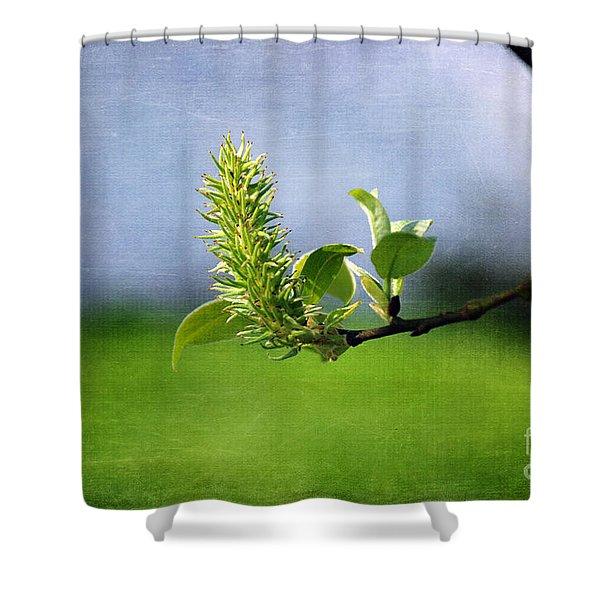 April Blossom Shower Curtain