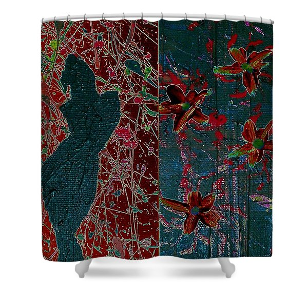 April Showers/ May Flowers Shower Curtain