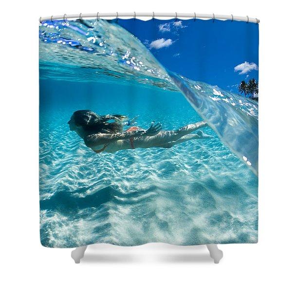 Aqua Dive Shower Curtain