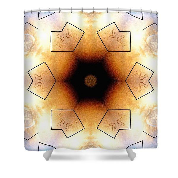 Aquarian Stardrum Shower Curtain