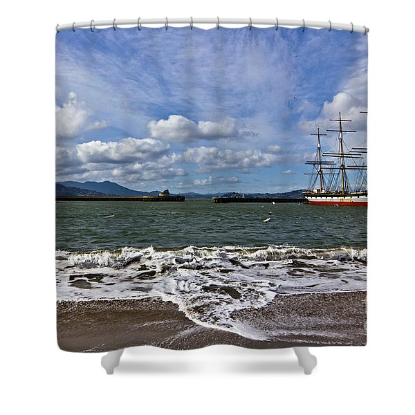 Aquatic Park Shower Curtain