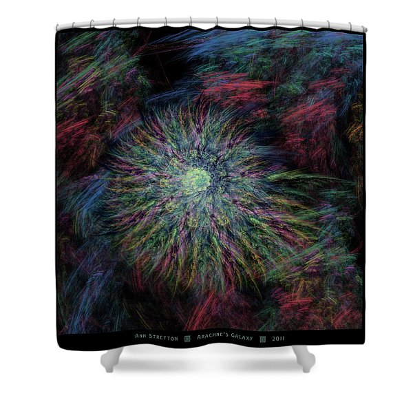 Arachne's Galaxy  Shower Curtain