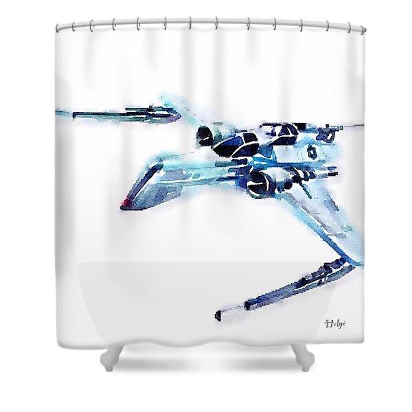 Arc-170 Starfighter Shower Curtain