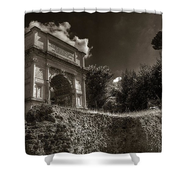 Arch Of Titus Shower Curtain