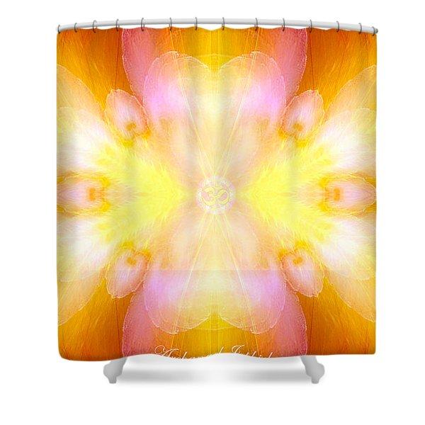Archangel Jophiel Shower Curtain