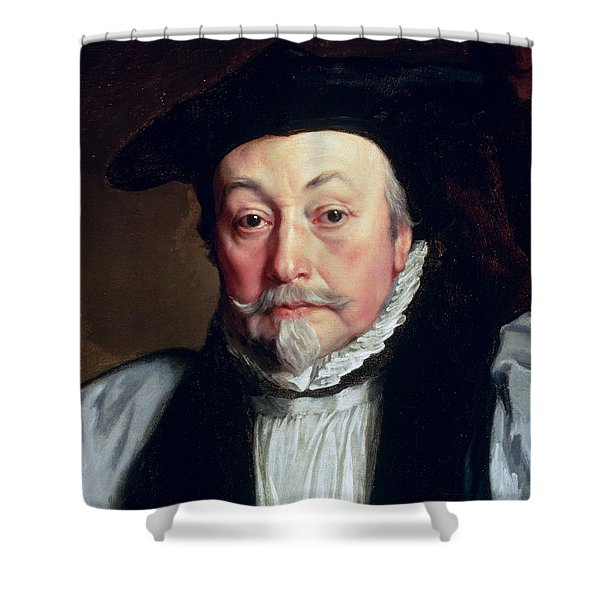 Archbishop William Laud C.1635-37 Shower Curtain