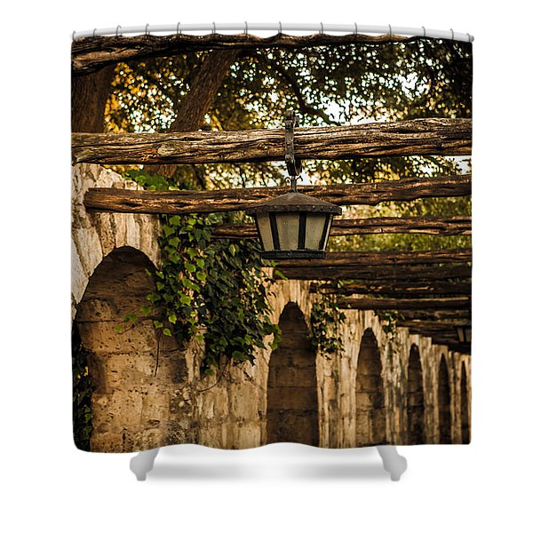 Arches At The Alamo Shower Curtain