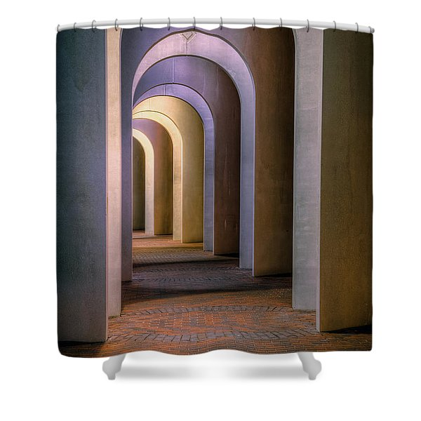 Arches Of The Ferguson Center Shower Curtain