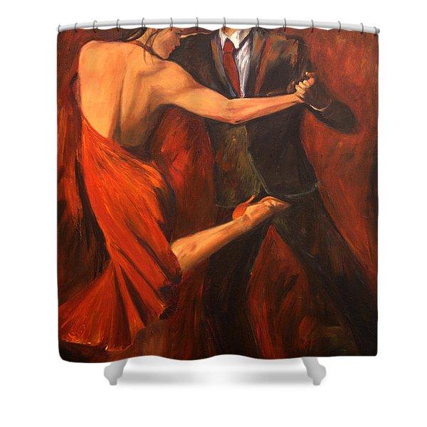 Argentine Tango Shower Curtain