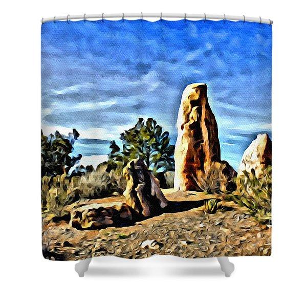 Arizona Monolith Shower Curtain