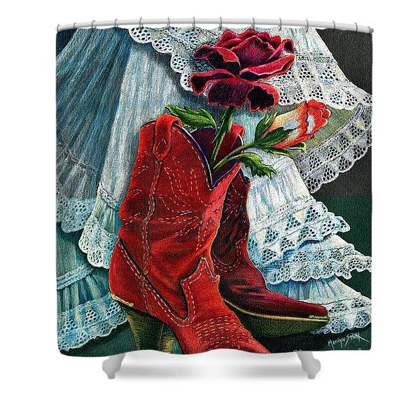 Arizona Rose Shower Curtain