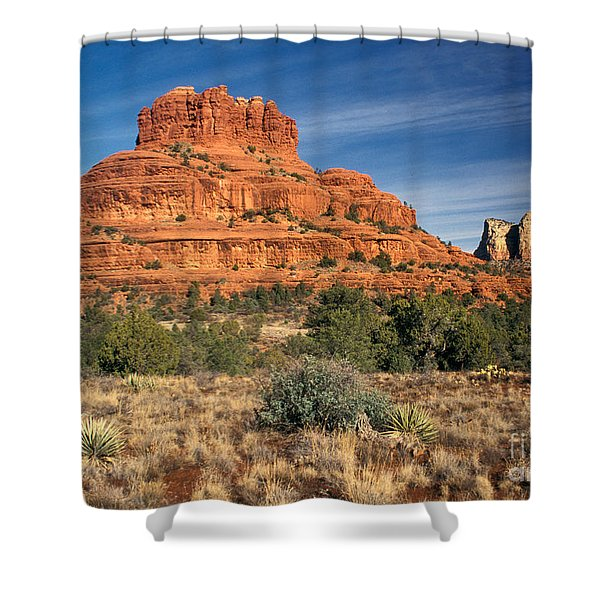 Arizona Sedona Bell Rock  Shower Curtain