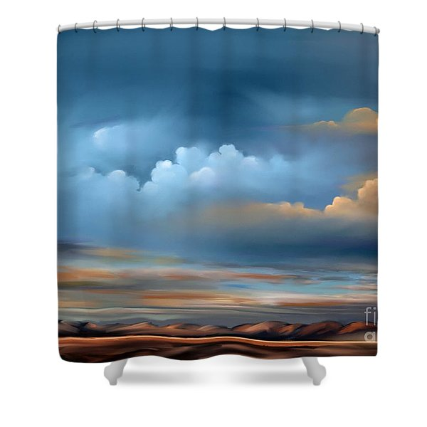 Arizona Skies Shower Curtain
