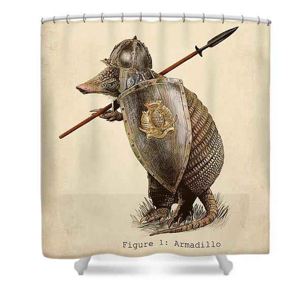 Armadillo Shower Curtain
