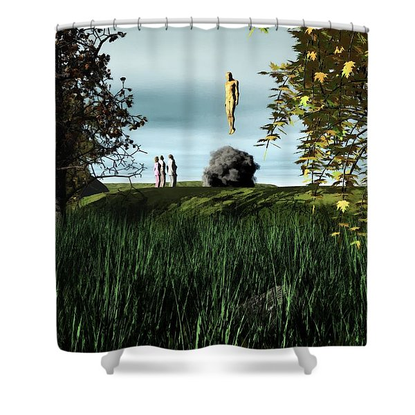 Arrival Of The Deceiver Shower Curtain