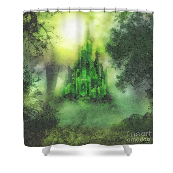 Arrival To Oz Shower Curtain