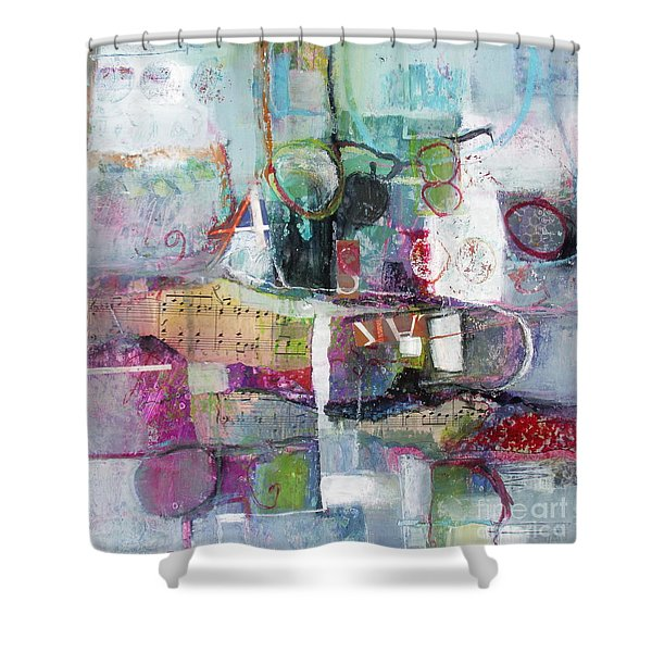 Art And Music Shower Curtain