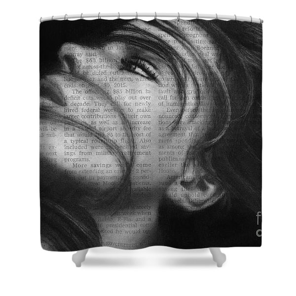 Art In The News 42 Shower Curtain