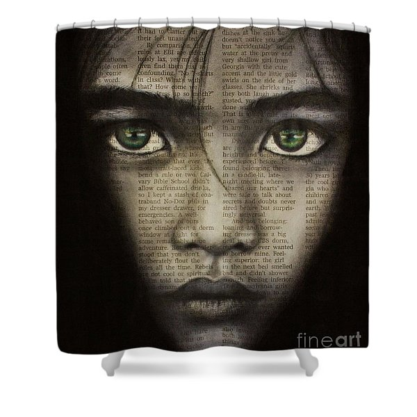 Art In The News 45 Shower Curtain