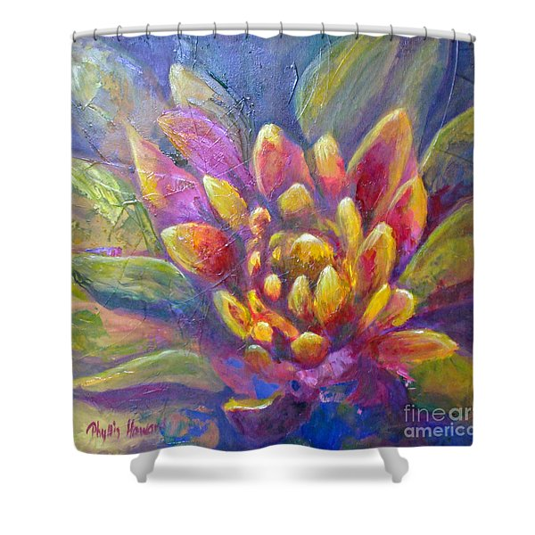 Artichoke Leaves Shower Curtain