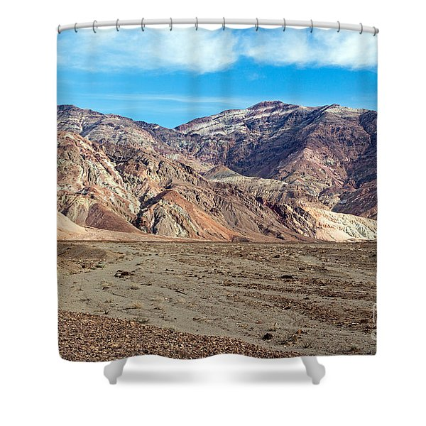 Artist Drive Death Valley National Park Shower Curtain