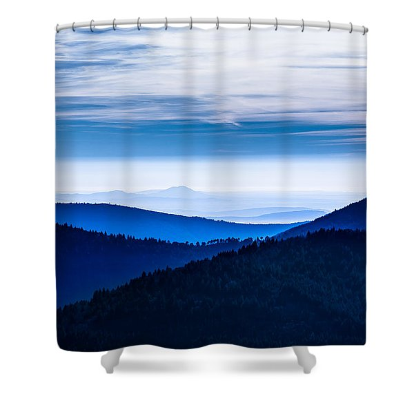 As Far As Our Eye Can See Shower Curtain