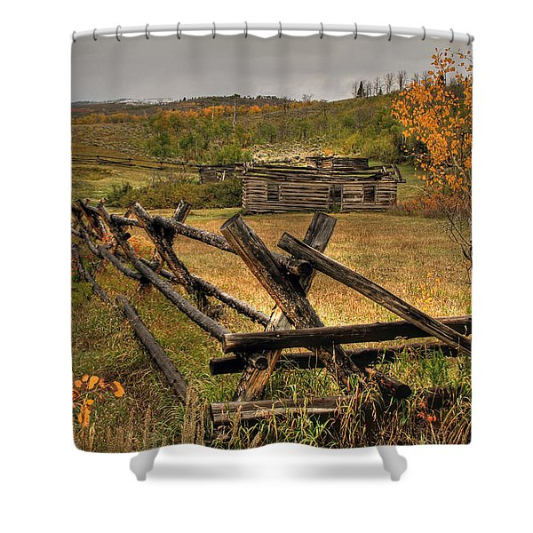 As Time Goes By Shower Curtain