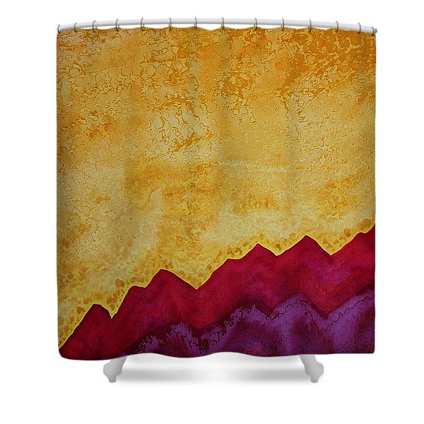 Ascension Original Painting Shower Curtain