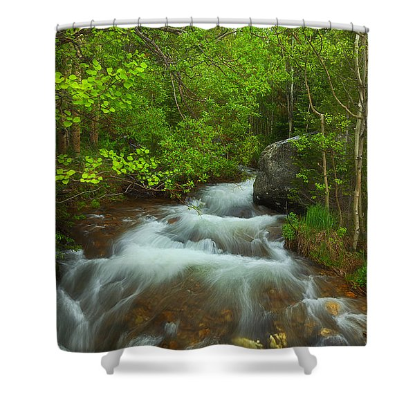 Aspen Creek Shower Curtain