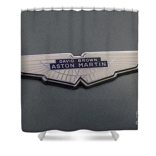 Aston Martin Shower Curtain