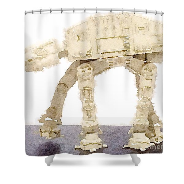 At-at All Terrain Armored Transport Shower Curtain