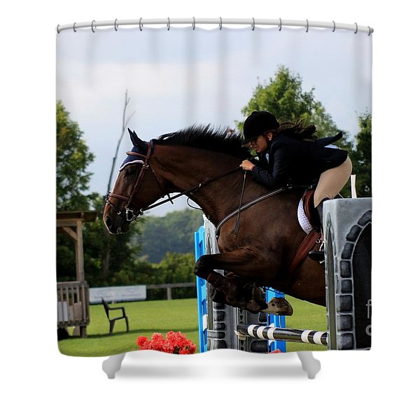 At-s-jumper117 Shower Curtain