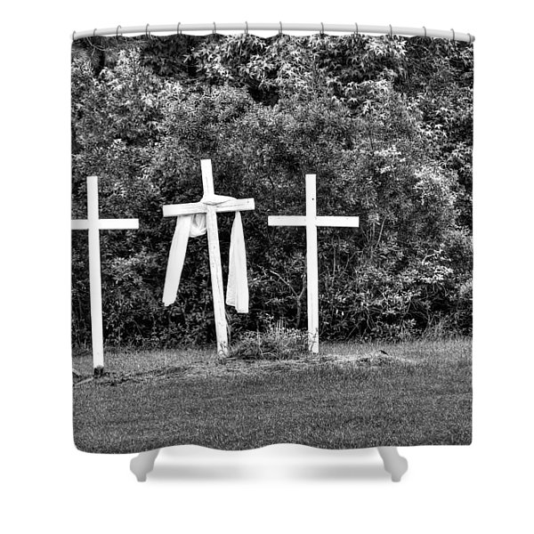 At The Cross Shower Curtain
