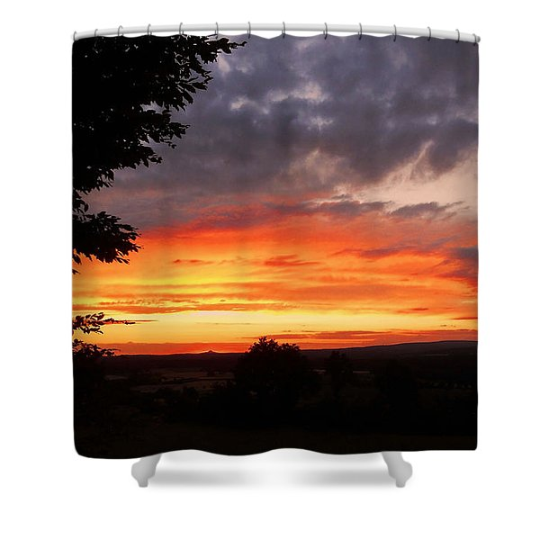 At The End Of The Day ... Shower Curtain