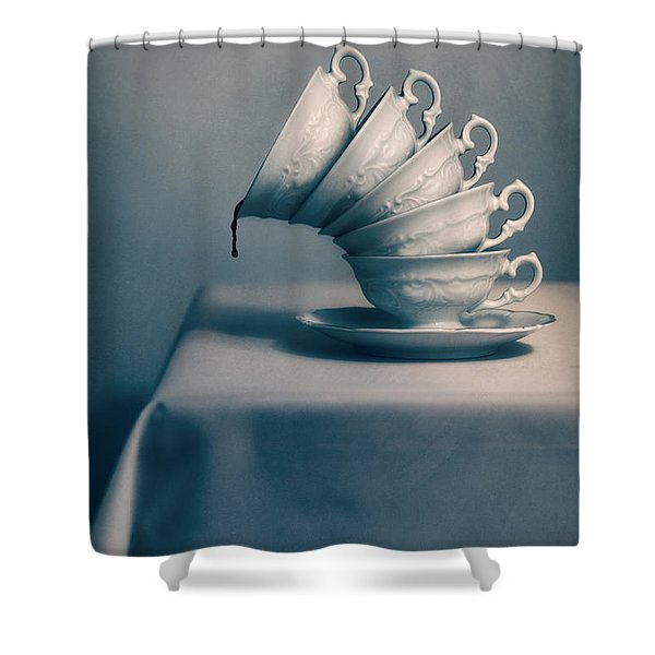 Shower Curtain featuring the photograph Attention  by Jaroslaw Blaminsky