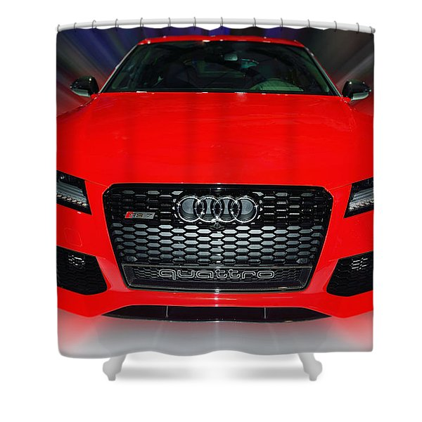 Audi Quattro Rs7 2014 Shower Curtain