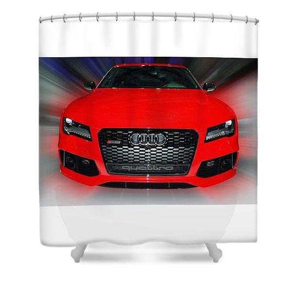Audi Quattro Rs7 2014 Shower Curtain