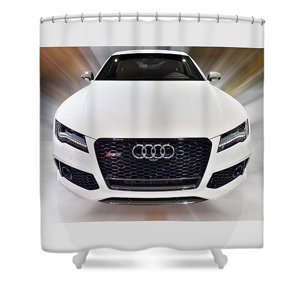 Audi  R S 7 Quattro 2014 Shower Curtain