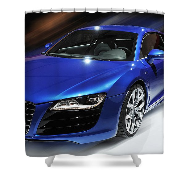Audi R8 V10 Fsi Shower Curtain