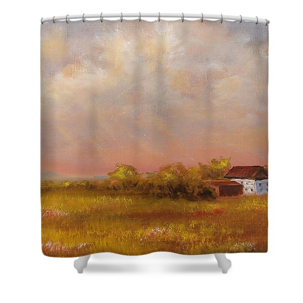 August Afternoon Pa Shower Curtain