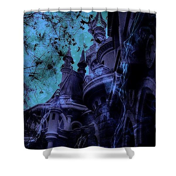Aurora's Nightmare II Shower Curtain
