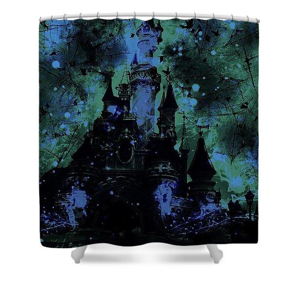 Aurora's Nightmare Shower Curtain