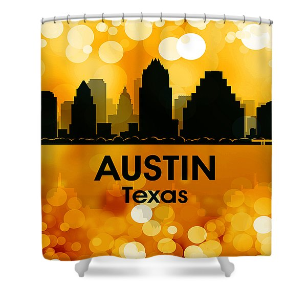 Austin Tx 3 Shower Curtain