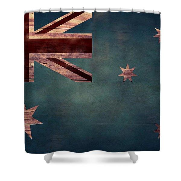Australian Flag I Shower Curtain
