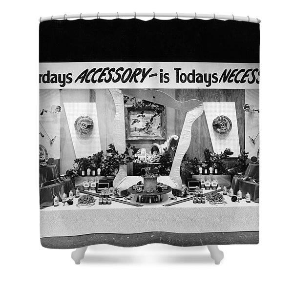 Automotive Accessories Display Shower Curtain
