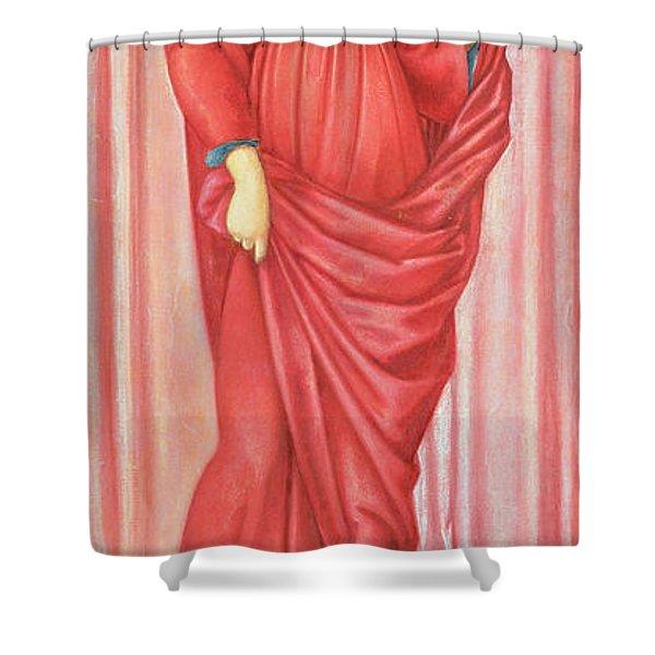 Autumn, 1869-70 Gouache On Paper Shower Curtain
