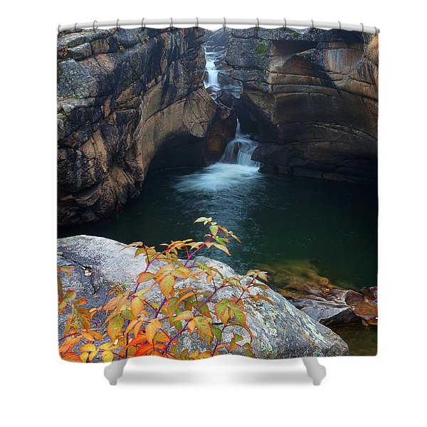 Autumn At The Grotto Shower Curtain