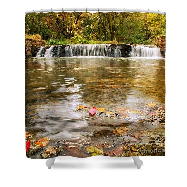 Autumn At Valley Creek Shower Curtain