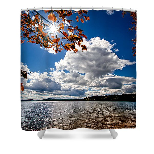 Autumn  Confidential  Shower Curtain