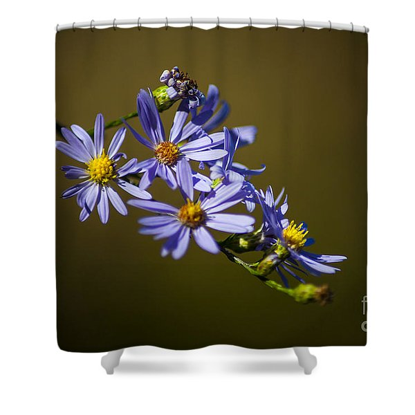 Autumn Floral Shower Curtain